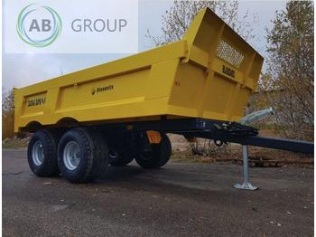 Remolque volquete agrícola Dinapolis Anhänger 9,5 t/ Dumper trailer Dina DPS/Прицеп DINA DPS 9,5/ Przyczepa/Remorque