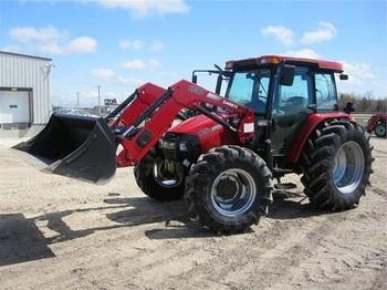 case IH FARMALL 105U - tractor