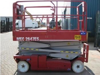 MEC 2647ES - plataforma elevadora