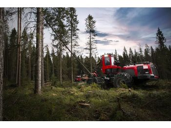 Procesadora forestal KOMATSU 951