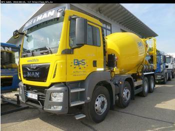 MAN TGS 32.400 8x4 BB Euro6 Betonmischer  Stetter AM  - betonomieszarka