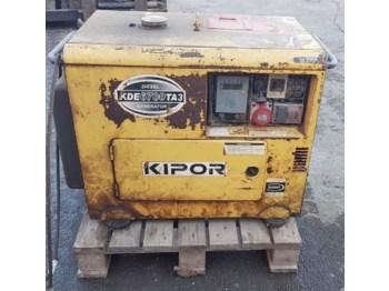 Kipor KDE 6700 TA3 - generator budowlany