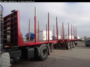 Ciężarówka do przewozu drewna SAP-39/3-27L-A SAP-39/3-27 HUTTNER Ausziehbar /