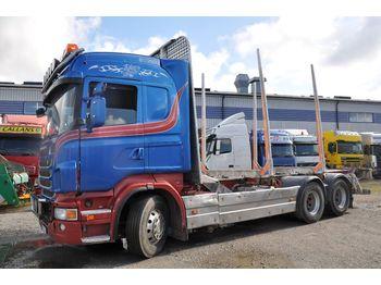 SCANIA R480 - ciężarówka do przewozu drewna
