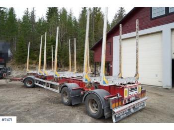 Ciężarówka do przewozu drewna Trailer-Bygg timber trailer