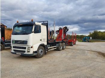 VOLVO  - ciężarówka do przewozu drewna