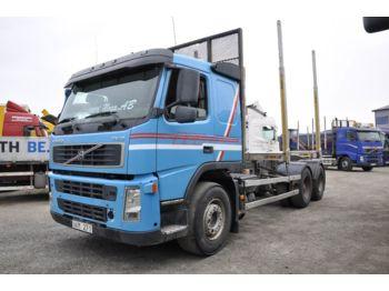 Ciężarówka do przewozu drewna VOLVO FM12 420 Parabel