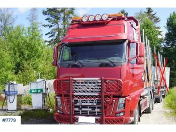 Volvo FH16 - ciężarówka do przewozu drewna