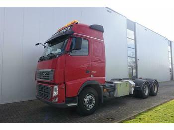 Volvo FH16.750 6X4 CHASSIS FULL STEEL EURO 5  - ciężarówka do przewozu drewna