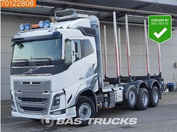 Volvo FH16 750 8X4 VEB+ Dynamic Steering Euro 6 Tree Transport - ciężarówka do przewozu drewna