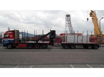 Ciężarówka do przewozu drewna Volvo FH500: zdjęcie 1