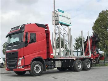 Ciężarówka do przewozu drewna Volvo - FH 13 500 BL 6x4