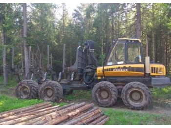PONSSE 8W - forwarder