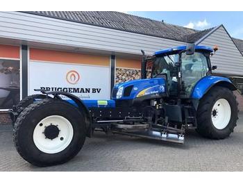 Ciągnik rolniczy New Holland T 6010 + Bos wegenschaaf