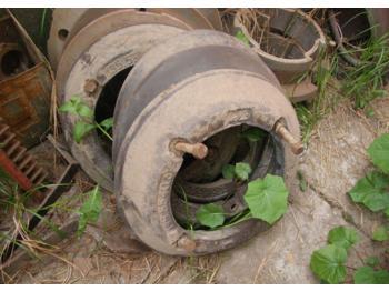 Obciążniki na koła Lampo Same Roller  - ciągnik rolniczy