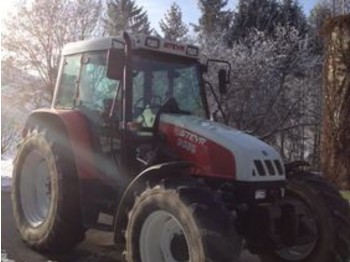 Steyr 9086 A mit Stoll HDPM 15 Frontlader - ciągnik rolniczy
