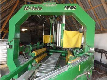 Mchale 998 Med fjernbetjening - maszyna do produkcji kiszonki
