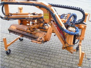 Dücker Unimog Frontmulcher - mulczer