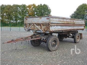 Fortschritt HW60 3 Way Dump Trailer - przyczepa rolnicza