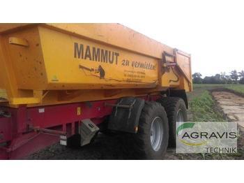 MAMMUT ERDMULDE - przyczepa rolnicza wywrotka