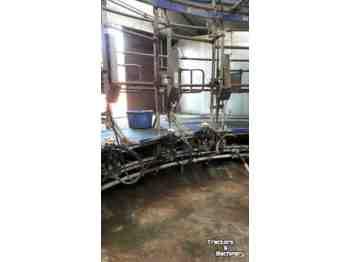 DeLaval carrousel - system udojowy