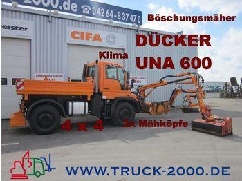 UNIMOG U500 Dücker UNA 600 *Böschungsmäher*Komunalhydr - maszyna rolnicza