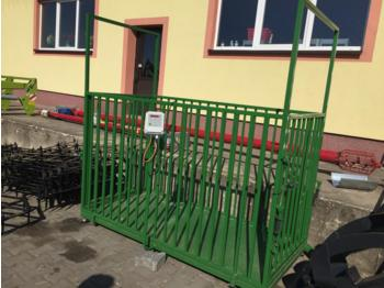Mrol Tierwaage/Cattle scale/Waga bydlęca - urządzenie do hodowli zwierząt