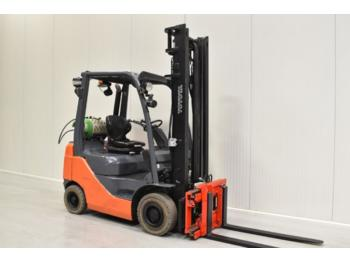 TOYOTA 02-8FGF18 - 4-wheel front forklift