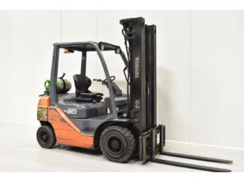 TOYOTA 02-8FGF20 - 4-wheel front forklift