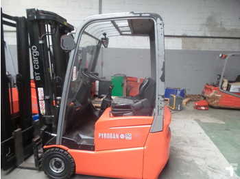 3-wheel front forklift BT C3E 150 PYROBAN