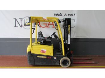 3-wheel front forklift HYSTER J 2.0 XNT (MWB)