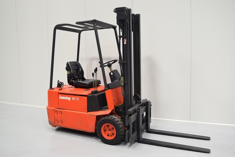 Berühmt LINDE E 15 3-wheel front forklift from Czech Republic for sale at #MN_01