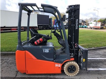 Toyota 8FBE18T - 3-wheel front forklift