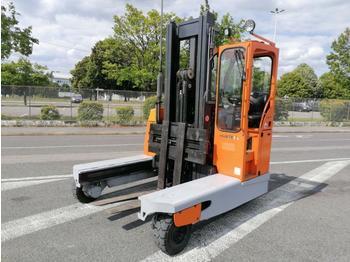 Hubtex DQ45D - 4-way reach truck