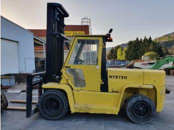 4-wheel front forklift CARRETILLA HYSTER H7.00XL