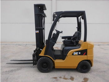 4-wheel front forklift CATERPILLAR DP18N: picture 1