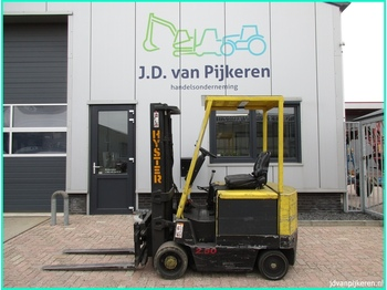 4-wheel front forklift HYSTER E2.50XL 2.5t electro + sideshift!