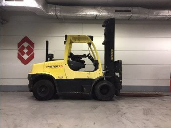 4-wheel front forklift HYSTER H7.0FT
