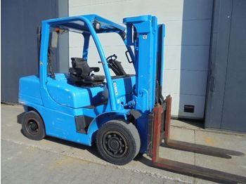 4-wheel front forklift Hyster 4,5 Ton Diesel Triplo container specs.