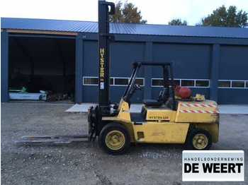 4-wheel front forklift Hyster 500 xl