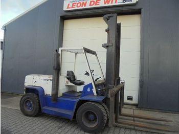4-wheel front forklift Hyster 6.00 XL Diesel