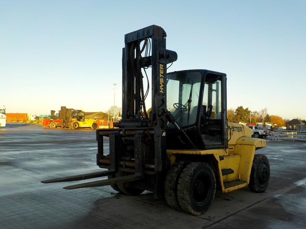 4-wheel front forklift Hyster 8 TON