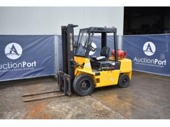 Hyster H3.00XMX - 4-wheel front forklift