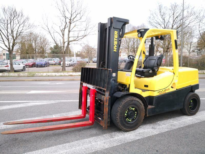 4-wheel front forklift Hyster H4.5FT