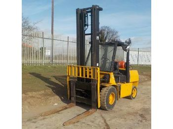 Hyster H5.00XL - 4-wheel front forklift