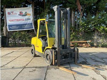 4-wheel front forklift Hyster H5.00XM MAX 4.05M 5 Ton Diesel heftruck