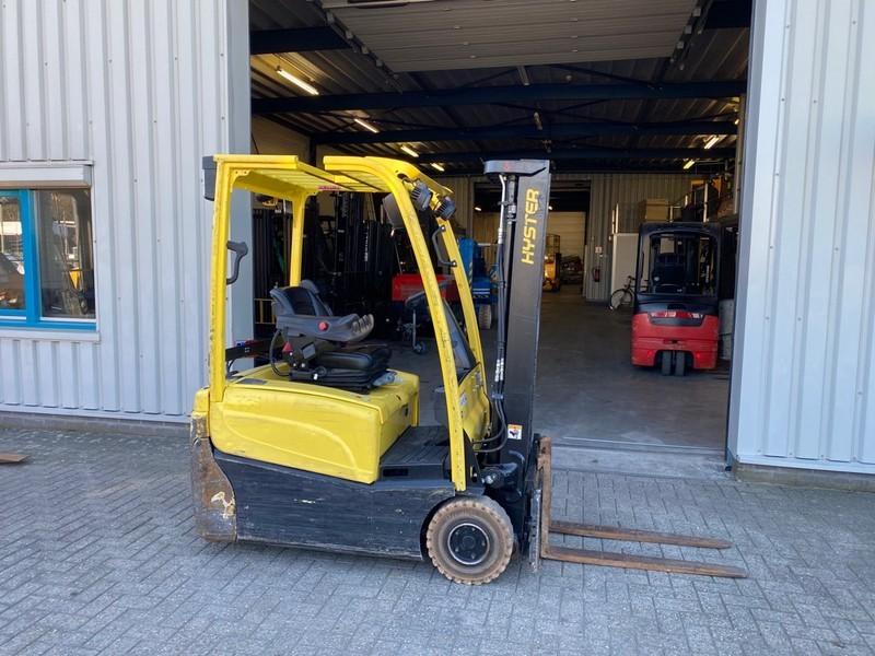 4-wheel front forklift Hyster J1.6XN, Heftruck, 1,6 ton, elektro