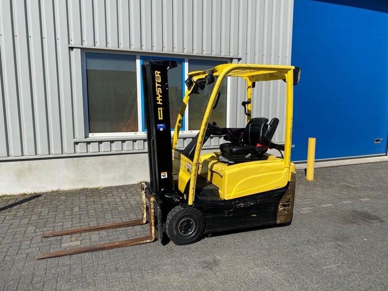 4-wheel front forklift Hyster J 1.60 XM T, Heftruck, elektro, 1.6 ton
