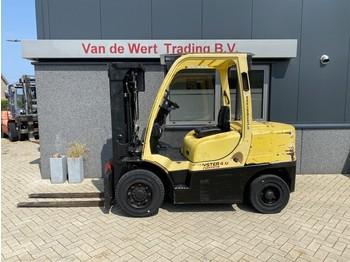 4-wheel front forklift Hyster heftruck H4.0FT5 triplo 450 freelift/3e functie 2007 diesel