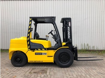 Hyundai 45DS-7E - 4-wheel front forklift